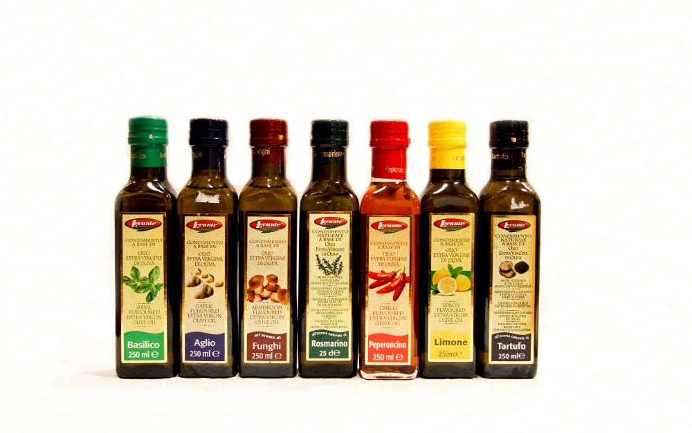 Olijfolie met aroma